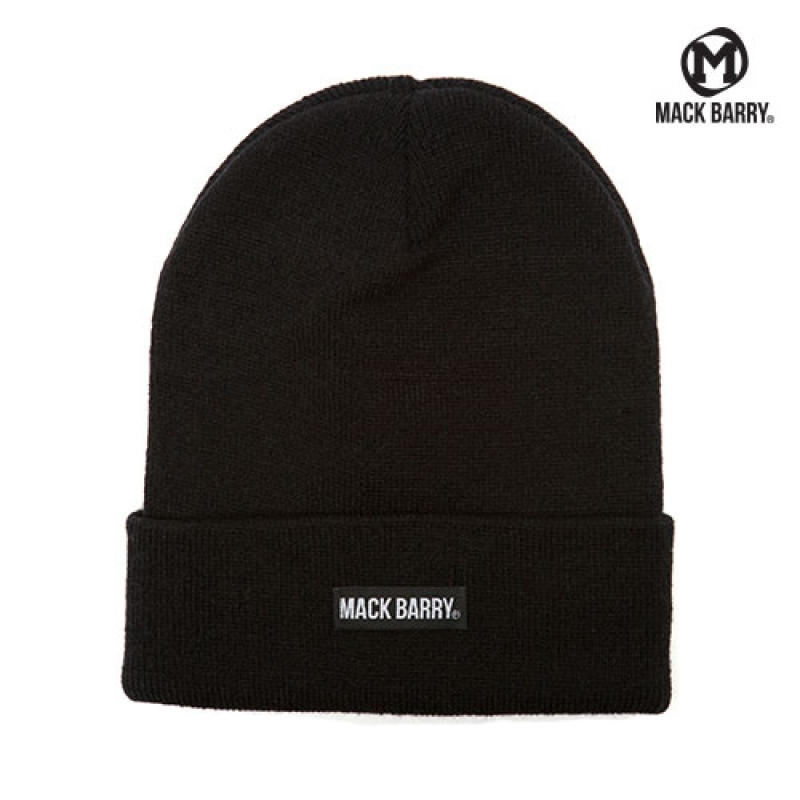 맥베리 MACK BARRY BASIC BEANIE (BLACK)