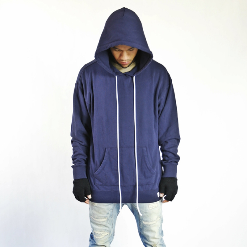싱크데님 pull over hoodies navy
