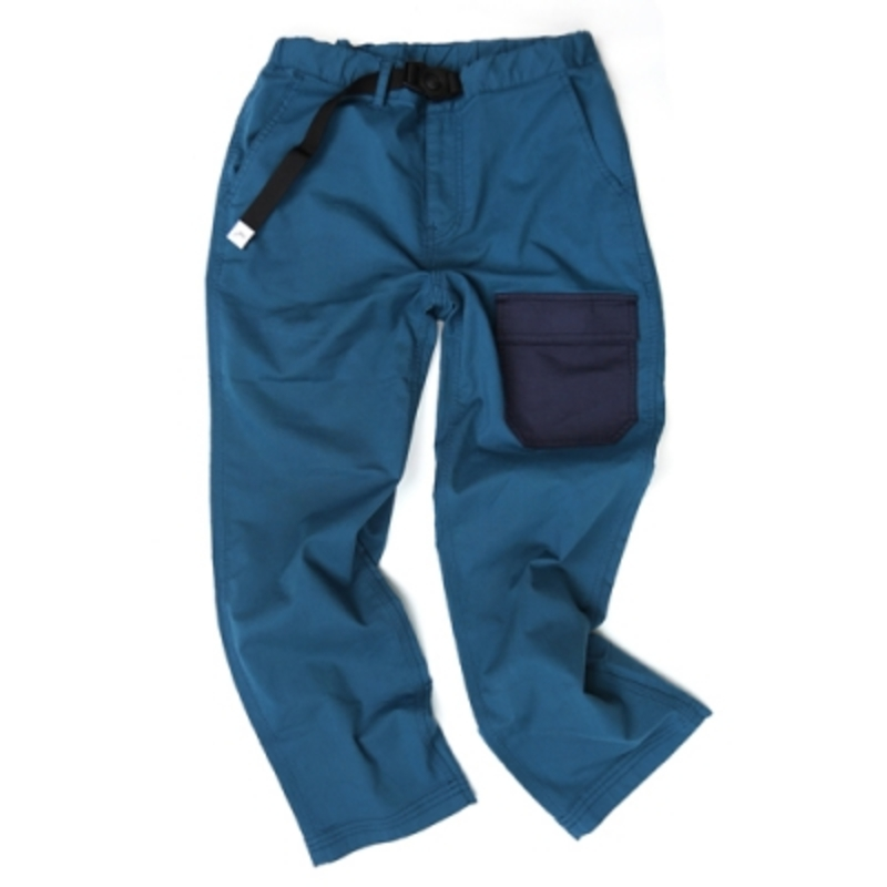 케일_크롭 컴피 팬츠 CAYL cropped comfy pants / Bluegreen
