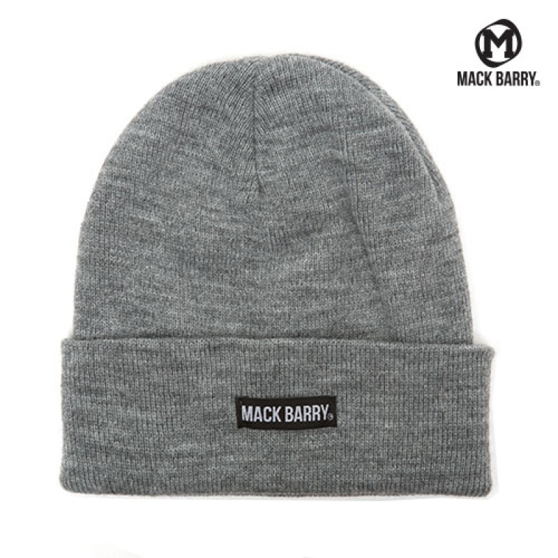 맥베리 MACK BARRY BASIC BEANIE (GRAY)