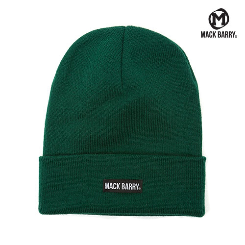 맥베리 MACK BARRY BASIC BEANIE (GREEN)