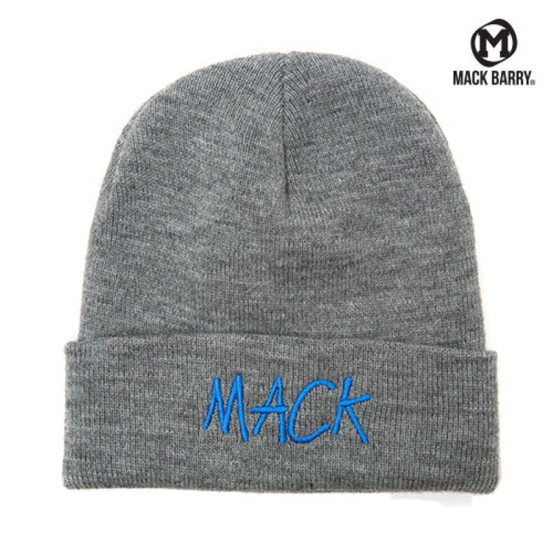 맥베리 MACK STITCH BASIC BEANIE (GRAY)