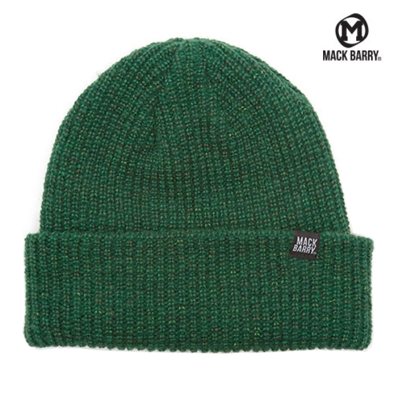 맥베리 MACK BARRY HEIST BEANIE (GREEN)