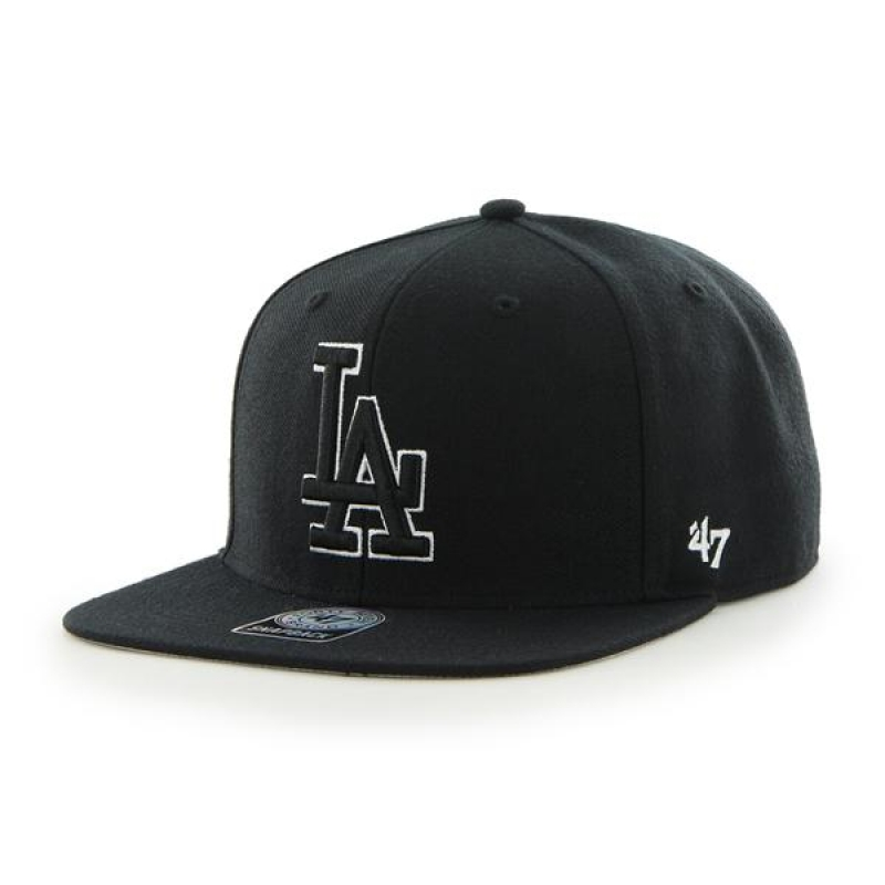 47브랜드 DODGERS BLACK SURE SHOT 47 CAP