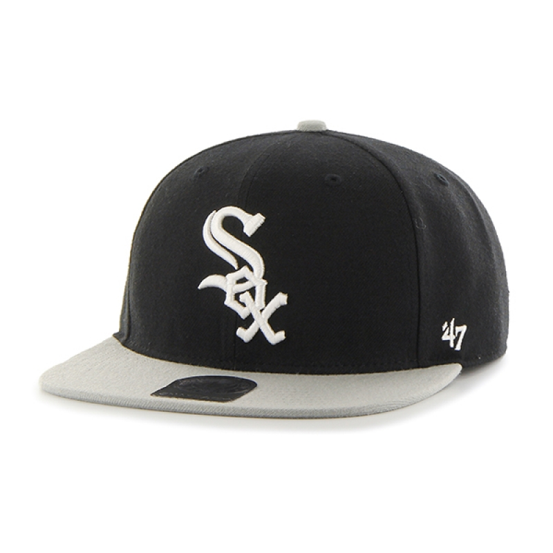 47브랜드 WHITE SOX BLACK SURE SHOT TWO