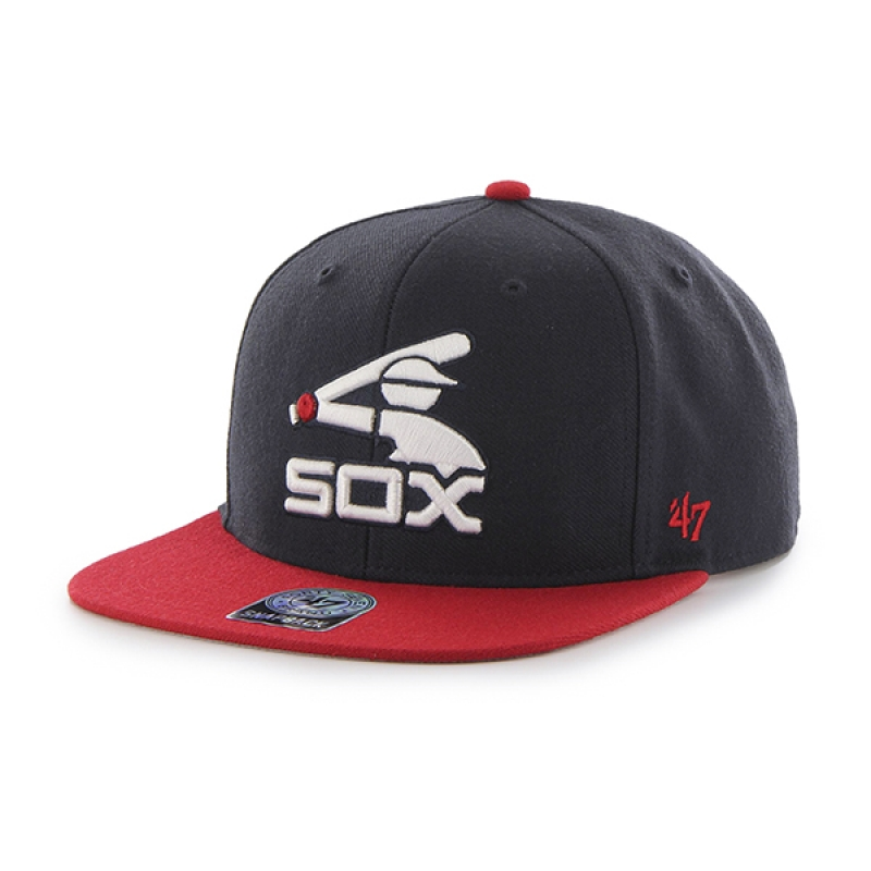 47브랜드 BCPTN WHITE SOX NAVY SURE SHOT
