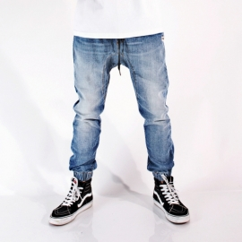 싱크데님 VINTAGE LIGHT DENIM DROPPER JOGGER
