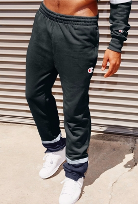 챔피온 조거팬츠 P5944 Champion SUPER FLEECE 3.0 PANT (Black/Granite Heater)
