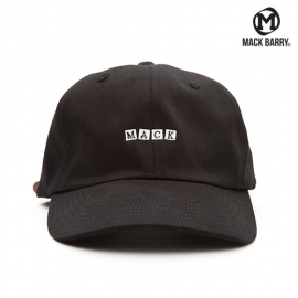 맥베리 모자 볼캡 BOX M.A.C.K 6P CAP BLACK