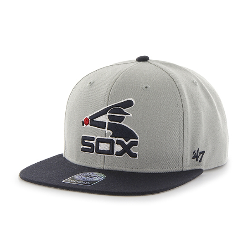 47브랜드 BCPTN WHITE SOX GRAY SURE SHOT