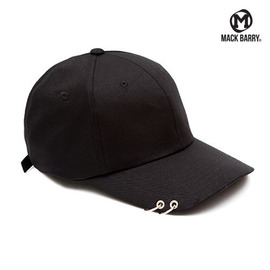 맥베리 모자 볼캡 MACK CURVE RING CAP (B) BLACK